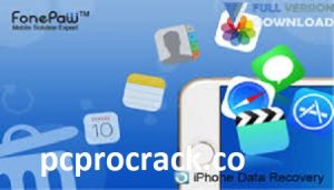 FonePaw iPhone Data Recovery 7.8.0 with Crack Download Latest 2021