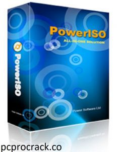 PowerISO 8.0 Crack With Serial Key Free Download 2021